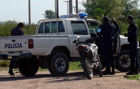 persecucion dew ladrones en moto