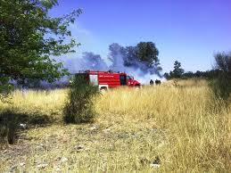Incendio Pastos Campo