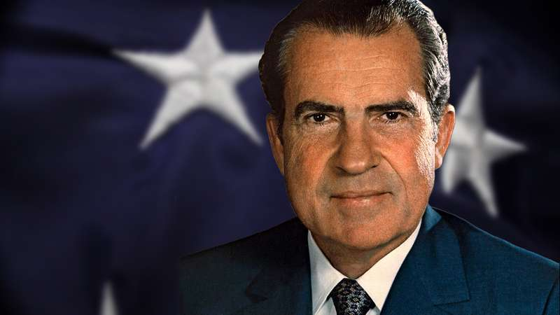 Hace 107 años nació Richard Nixon