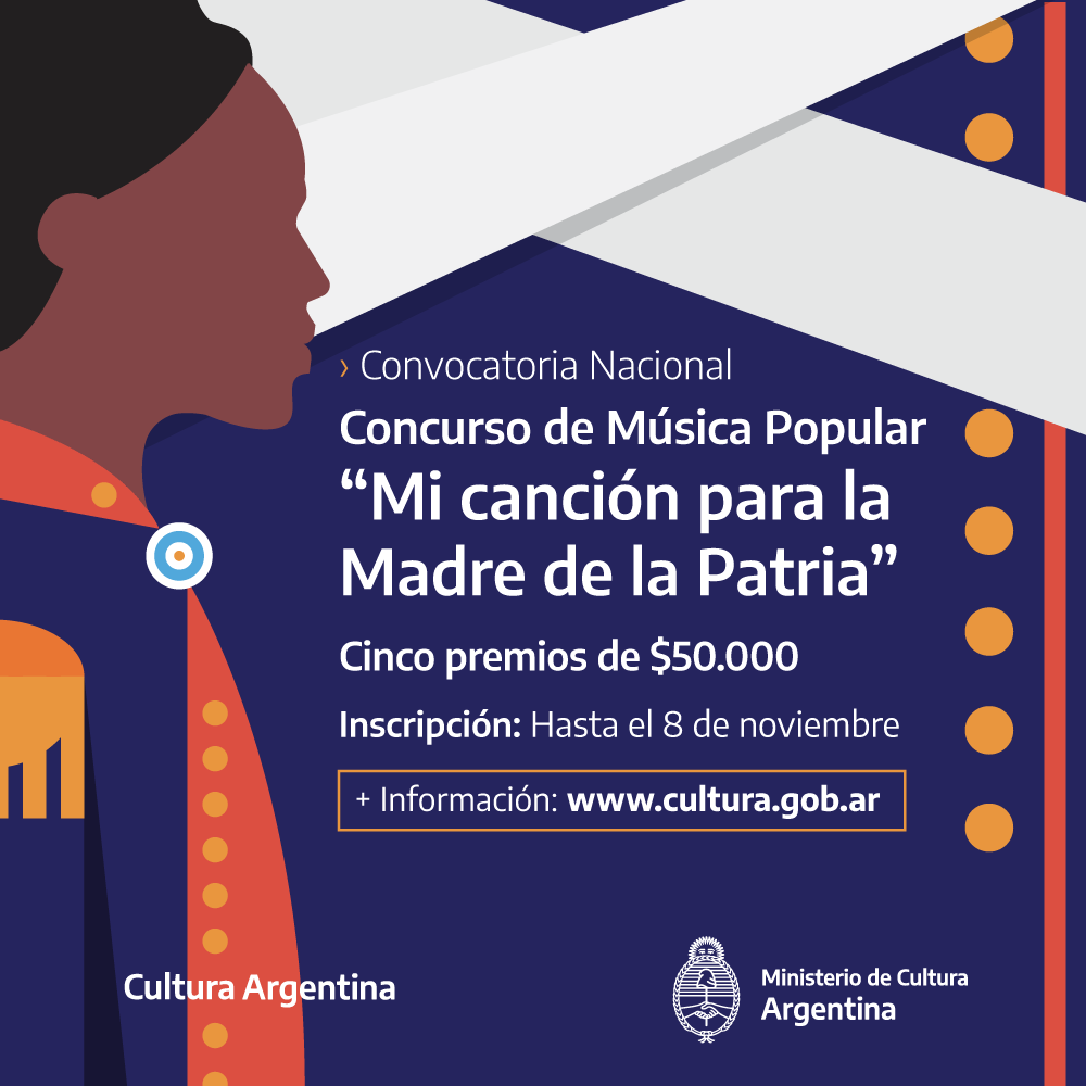 """Concurso Nacional de Música Popular """"Mi canción para la Madre de la Patria"""""""